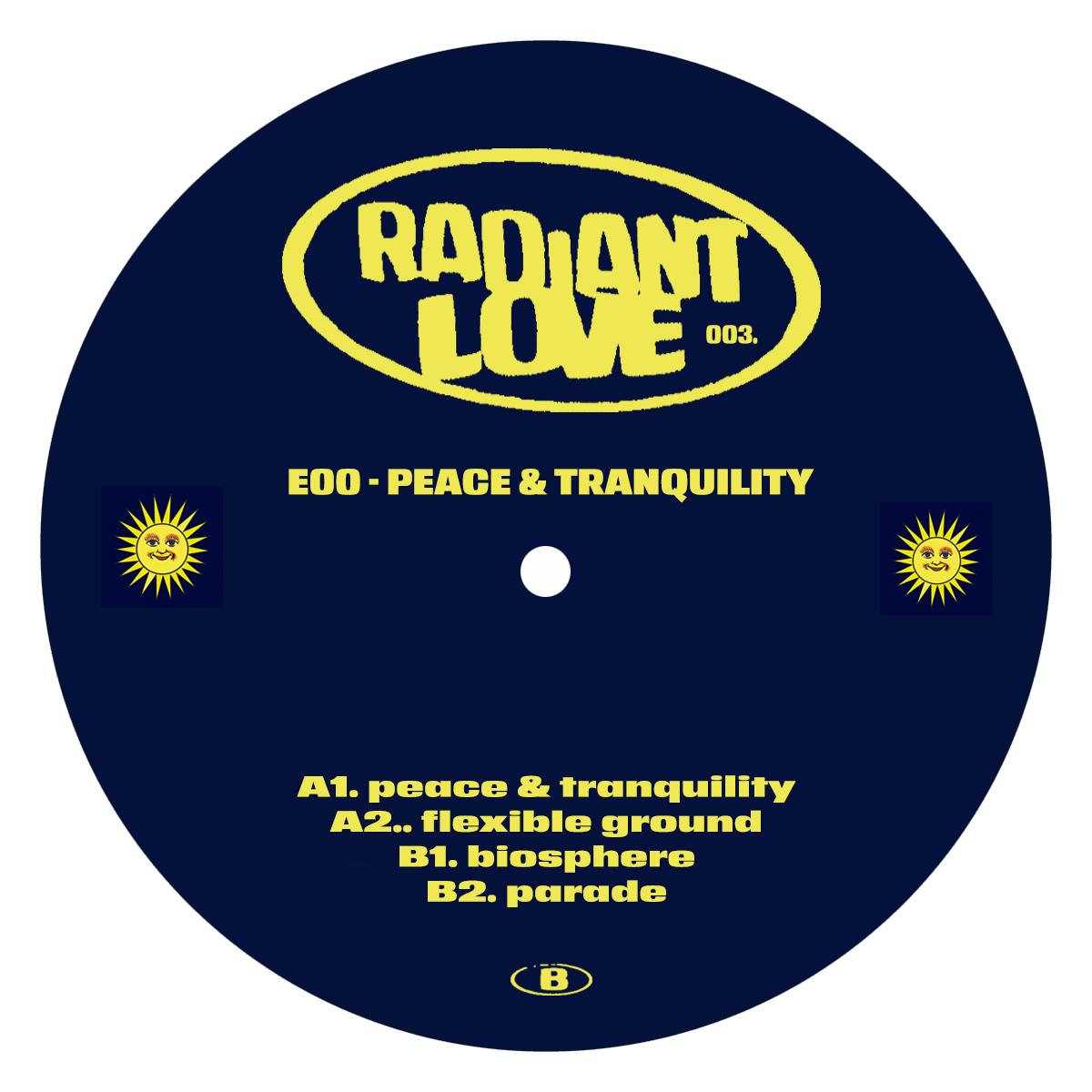 "E00/PEACE & TRANQUILITY 12"""