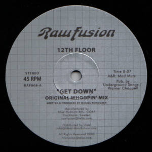 12th Floor/GET DOWN (DOMU REMIX) 12""