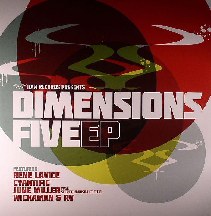 "Various/DIMENSIONS 5 EP D12"""