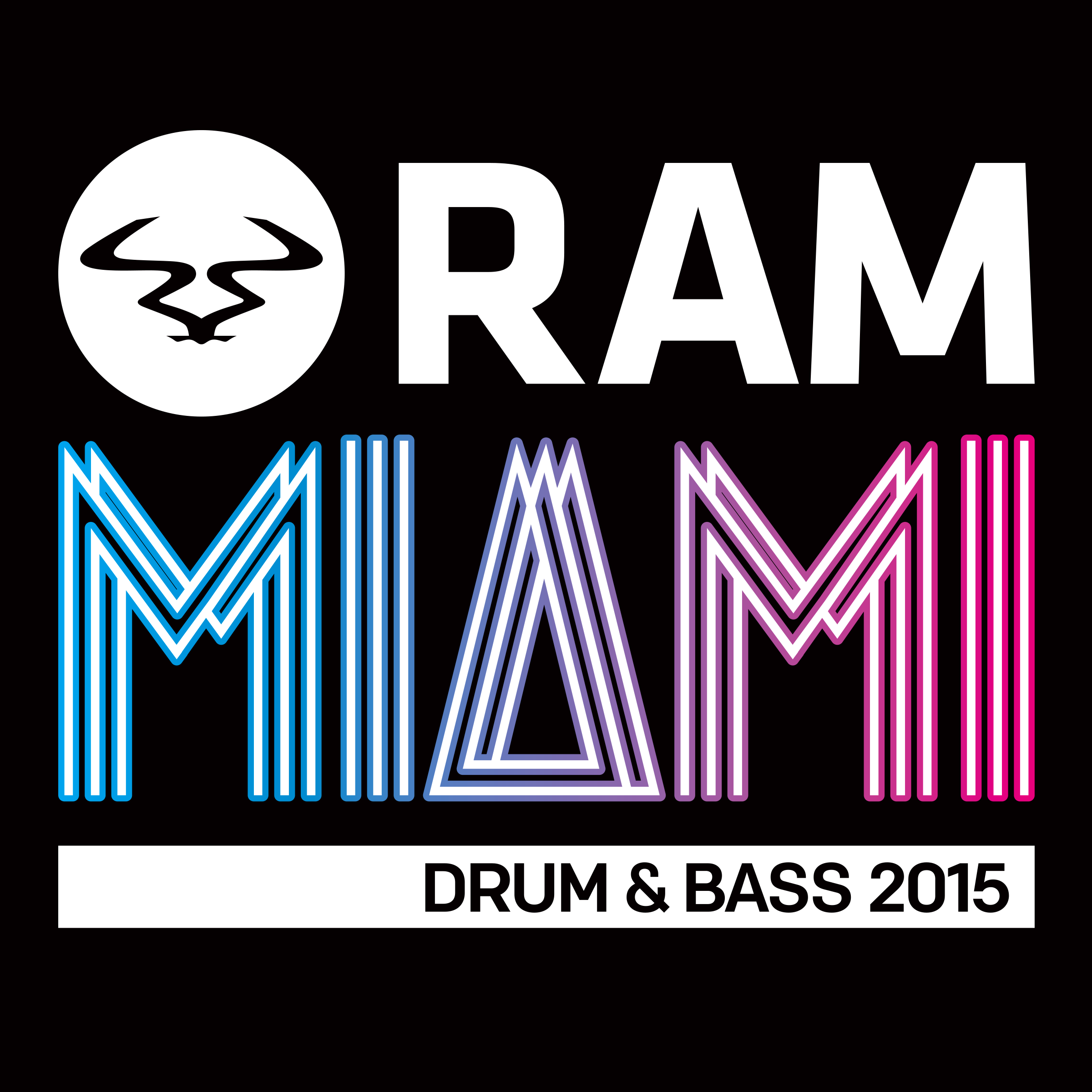 Various/RAM MIAMI DRUM & BASS 2015 CD