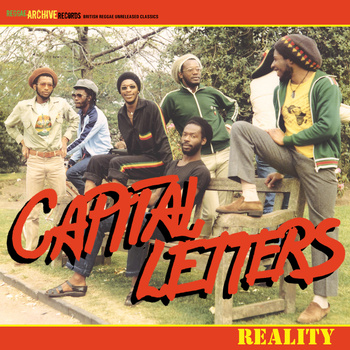 Capital Letters/REALITY (1985) LP