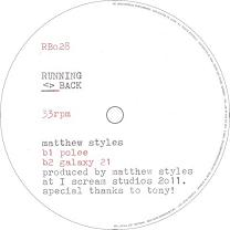 Matthew Styles/SAMPLE & HOLD EP 12""