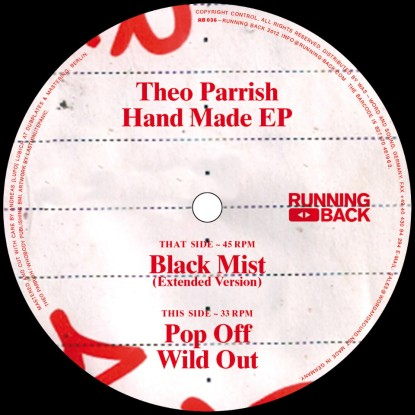 Theo Parrish/HAND MADE EP 12""