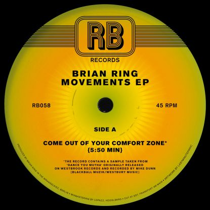 Brian Ring/MOVEMENTS EP 12""