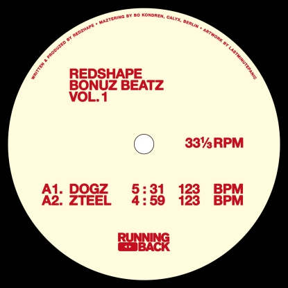 Redshape/BONUZ BEATZ VOL 1 12""