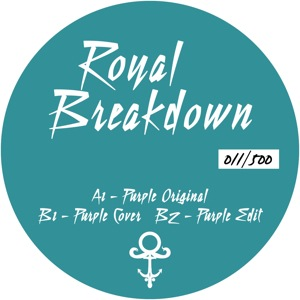 "Royal Breakdown/PURPLE 12"""