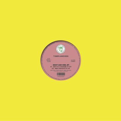 """Tiger & Woods/BOOT & HEEL EP 12"""""""