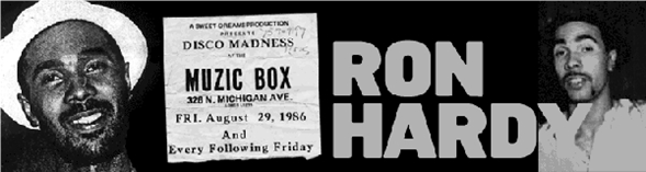 "Ron Hardy/RON HARDY EDITS #16 12"""