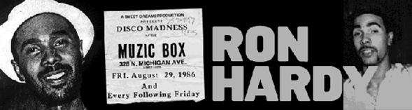 "Ron Hardy/RON HARDY EDITS #17 12"""