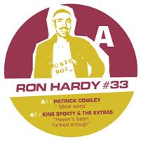 "Ron Hardy/RON HARDY EDITS #33 12"""