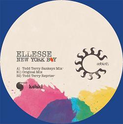 "Ellesse/NEW YORK BOY - TODD TERRY 12"""