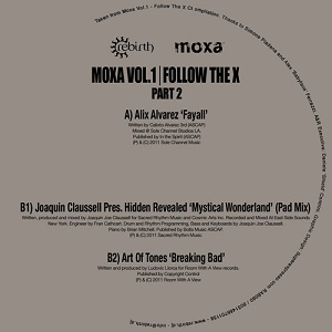 Various/MOXA VOL.1 PT2 FOLLOW THE X 12""