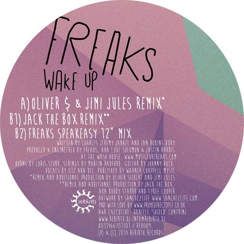 "Freaks/WAKE UP REMIXES 12"""