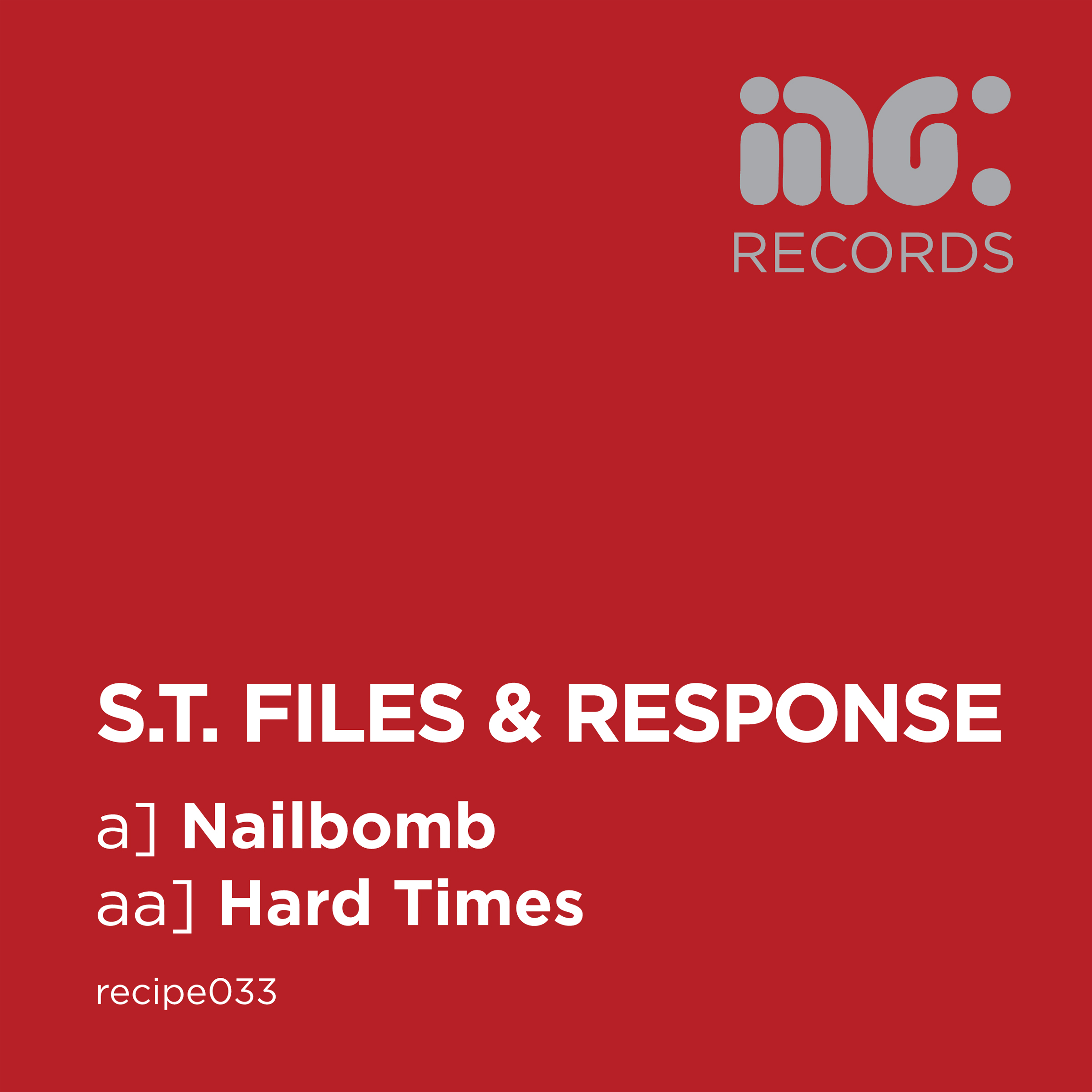 S.T. Files & Response/NAILBOMB 12""
