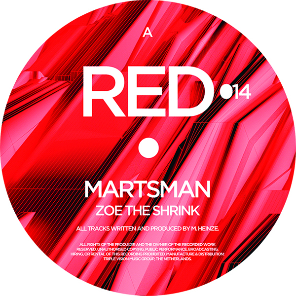 Martsman/ZOE THE SHRINK 12""