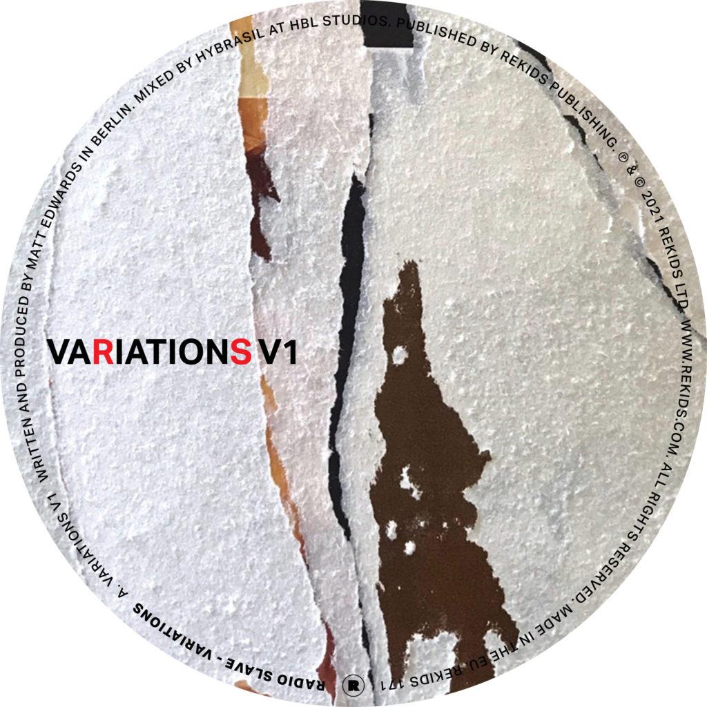 "Radio Slave/VARIATIONS 12"""