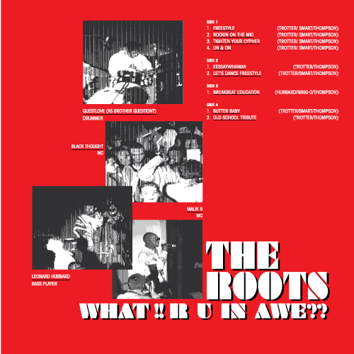 Roots, The/WHAT!! R U IN AWE?? DLP