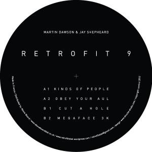 "M. Dawson & J. Shepheard/RETROFIT #9 12"""