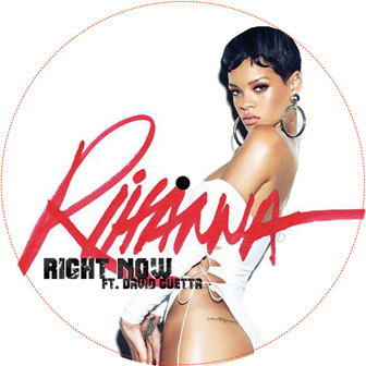 Rihanna/RIGHT NOW REMIXES 12""