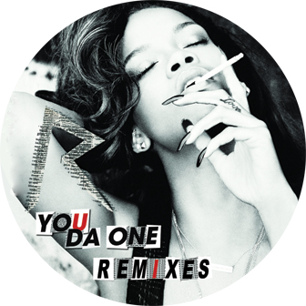 Rihanna/YOU DA ONE REMIXES 12""