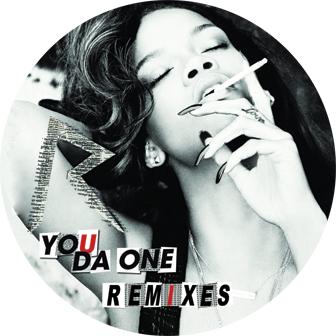 """Rihanna/YOU DA ONE REMIXES 12"""""""