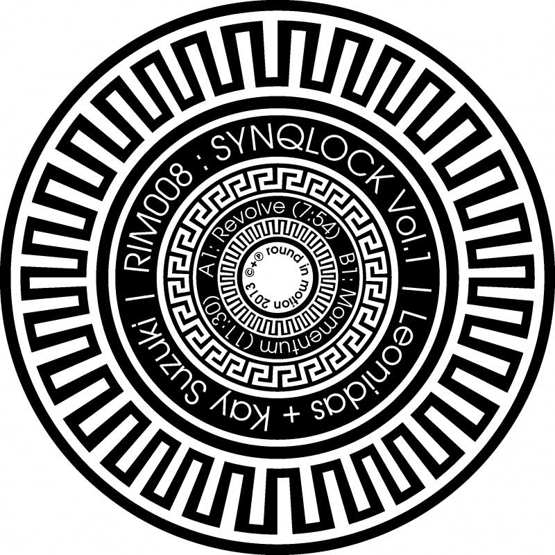 "Kay Suzuki & Leonidas/SYNQLOCK VOL 1 12"""