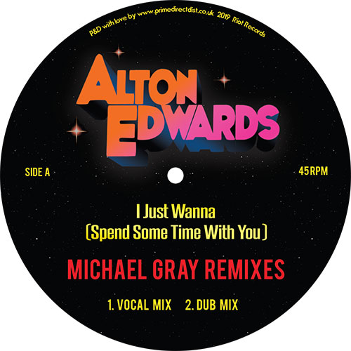 Alton Edwards/I JUST WANNA 12""