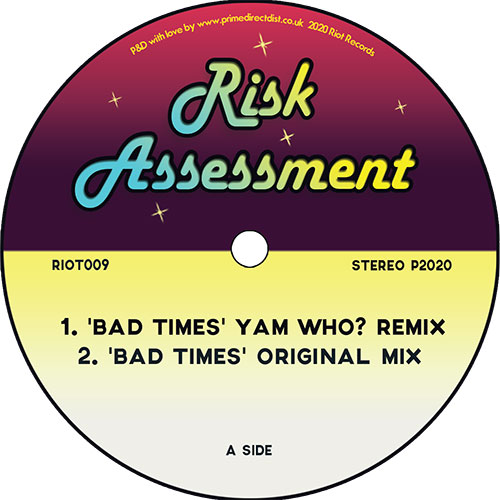 "Risk Assessment/BAD TIMES 12"""