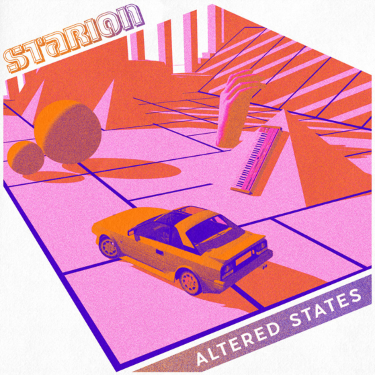 """Starion/ALTERED STATES EP 12"""""""