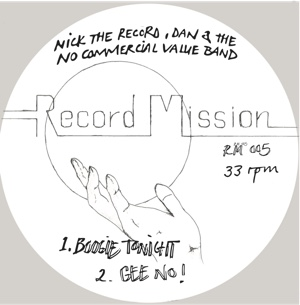 Nick The Record/RECORD MISSION 005 12""