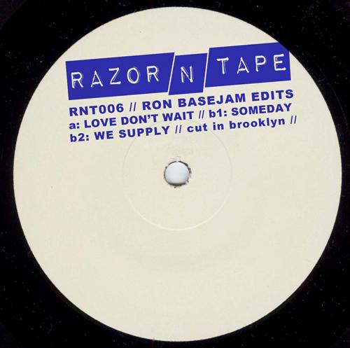 "Ron Basejam/RAZOR-N-TAPE EDITS 12"""