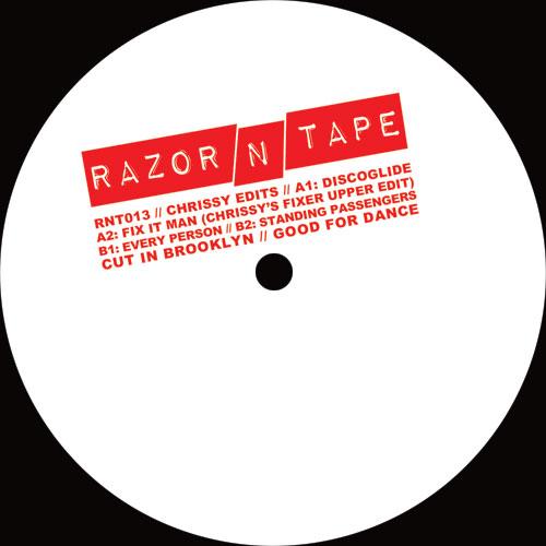 "Chrissy/RAZOR-N-TAPE EDITS 12"""