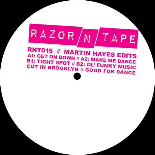 "Martin Hayes/RAZOR-N-TAPE EDITS 12"""
