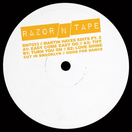 "Martin Hayes/RAZOR-N-TAPE EDITS PT 2 12"""