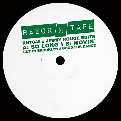 Jimmy Rouge/RAZOR-N-TAPE EDITS 12""