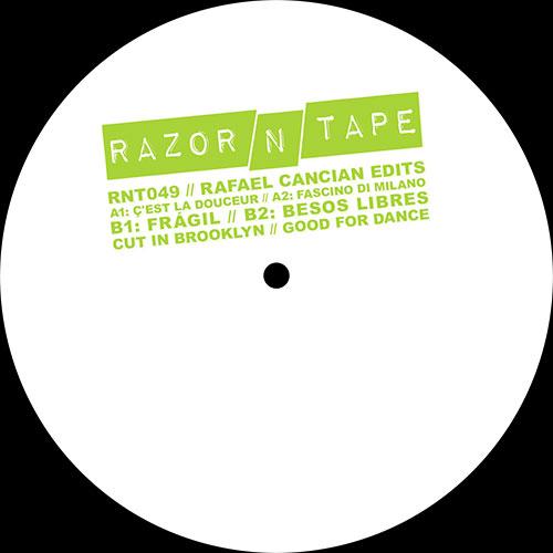 "Rafael Cancian/RAZOR-N-TAPE EDITS 12"""