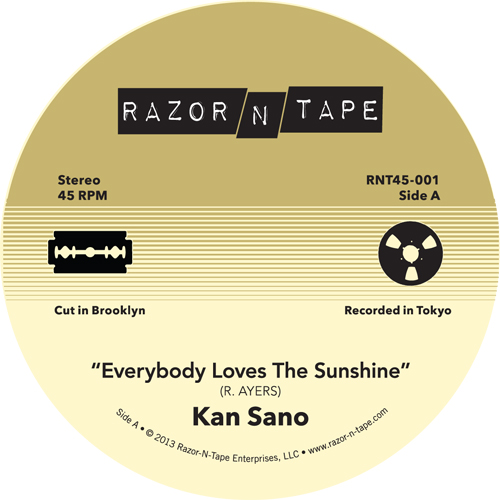 Kan Sano/EVERYBODY LOVES THE SUNSHINE 7""
