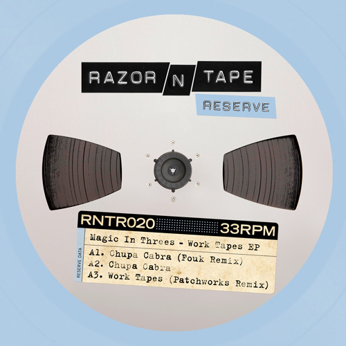 Magic In Threes/WORK TAPES EP 12""