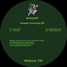 Around7/DOUBLE CROSSING EP 12""