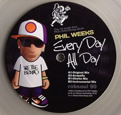 Phil Weeks/ALL DAY EVERY DAY 12""