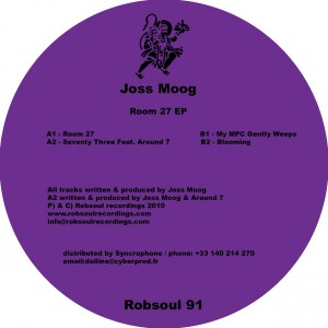 """Joss Moog/ROOM 27 EP 12"""""""