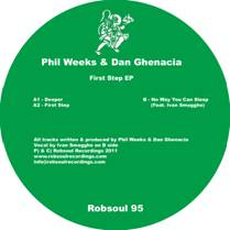 Phil Weeks & Dan Ghenacia/FIRST STEP 12""