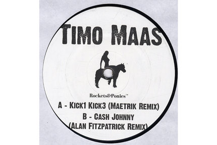 "Timo Maas/KICK 1 KICK 3-MAETRICK RMX 12"""