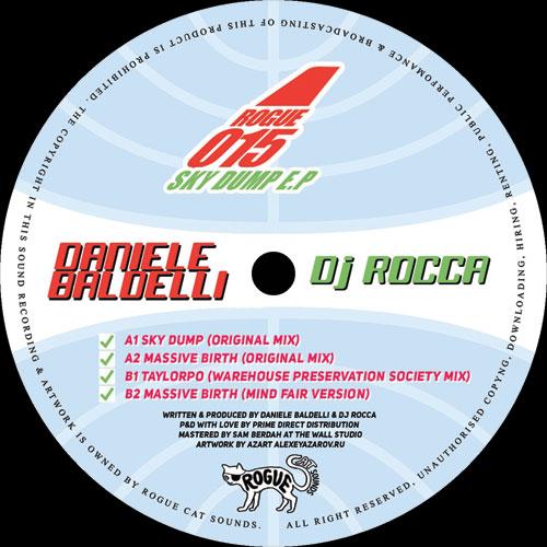 "Daniele Baldelli & DJ Rocca/SKY DUMP 12"""
