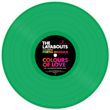 Layabouts, The/COLOURS OF LOVE 12""