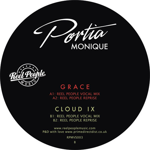 "Portia Monique/GRACE-REEL PEOPLE RMX 12"""