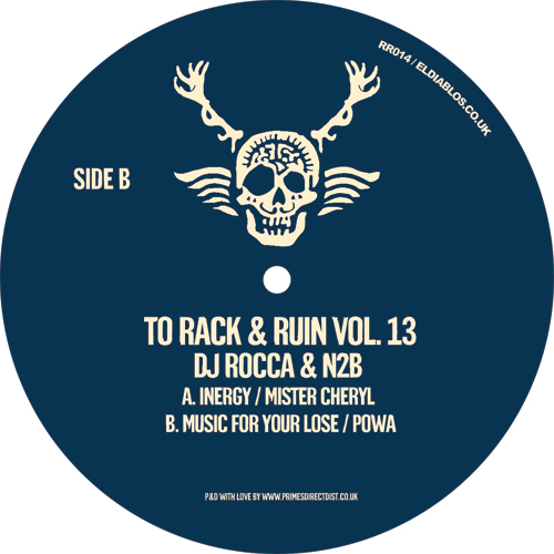 DJ Rocca & N2B/TO RACK & RUIN VOL 13 12""