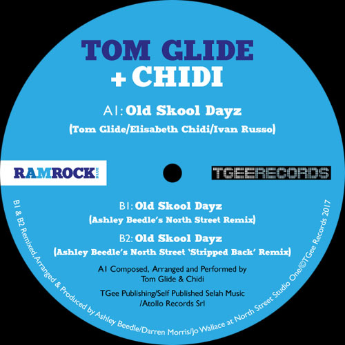 "Tom Glide & Chidi/OLD SKOOL DAYZ 12"""