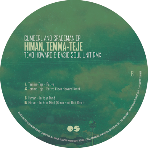Temma-Teje/POTIVE (TEVO HOWARD RMX) 12""