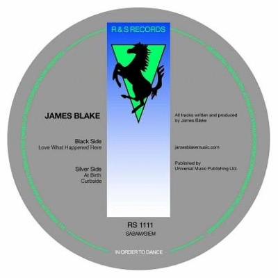 James Blake/LOVE WHAT HAPPENED HERE 12""